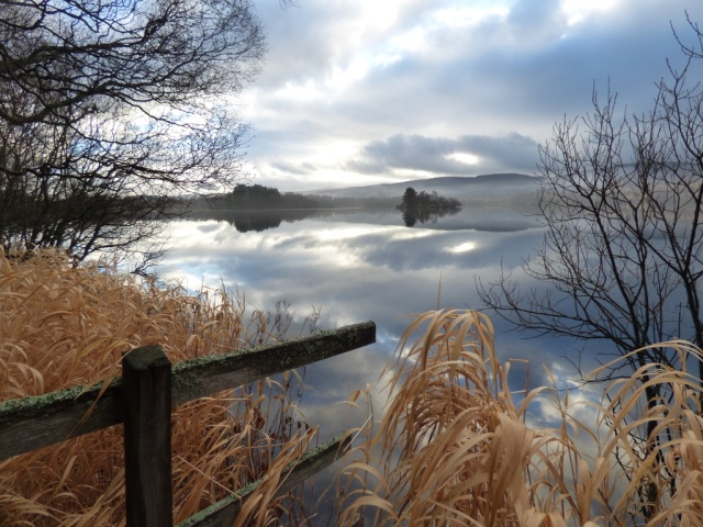 Loch Kinord reflections