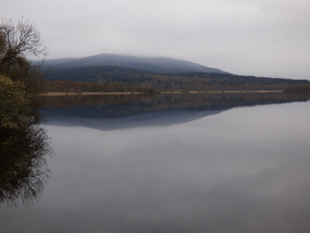 One of this week's misty mornings at Loch Kinord