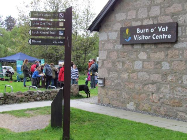 Cairngorms Nature festival at Burn o Vat