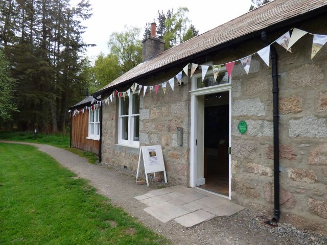 Putting up the bunting! All ready for Saturday's Cairngorms Nature Festival
