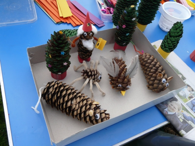 Things to do with a pine cone!