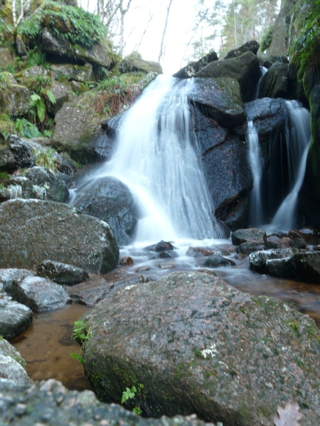 Vat waterfall in low light