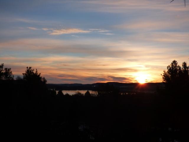 Sunrise over Loch Kinord