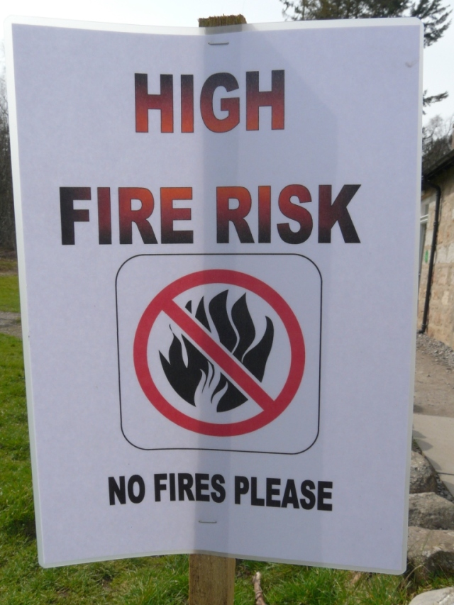 High Fire risk- just don't!