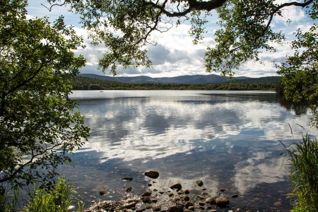 Sunshine over Loch Kinord