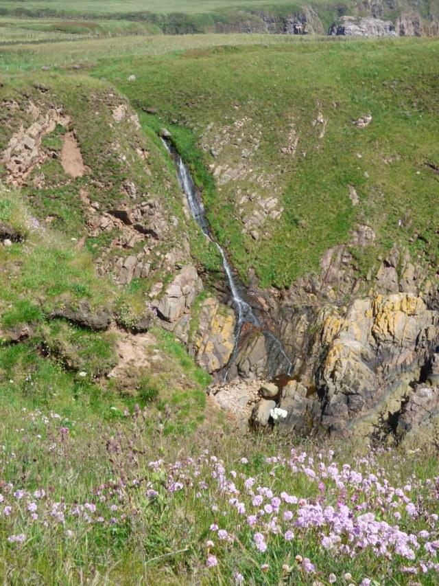Waterfall near Longhaven