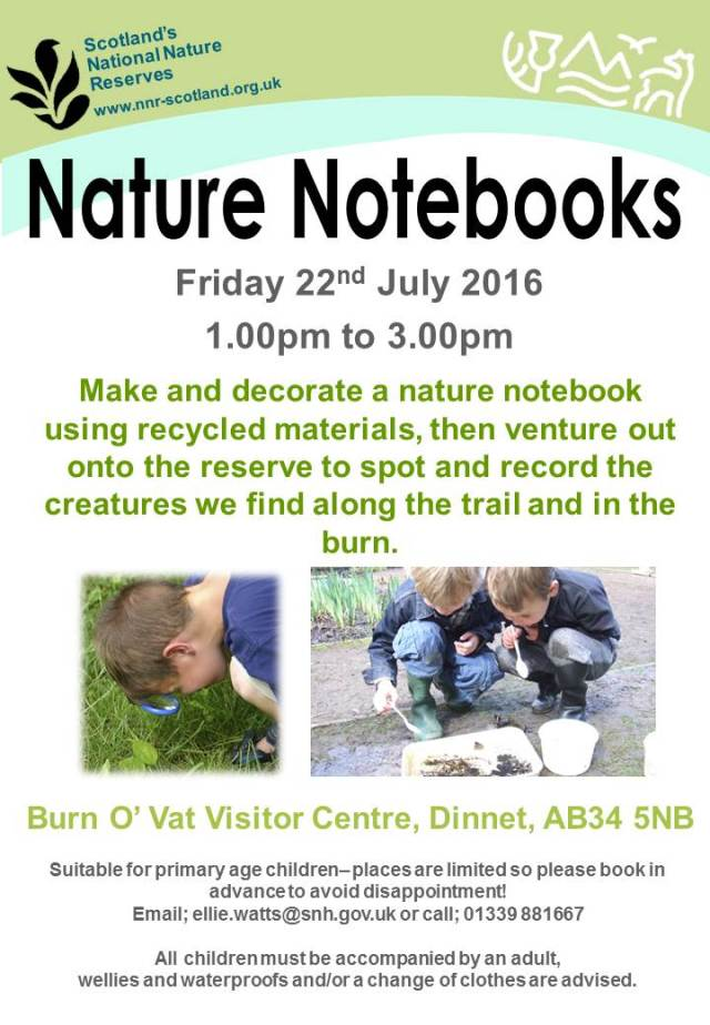 Poster - nature notebooks2