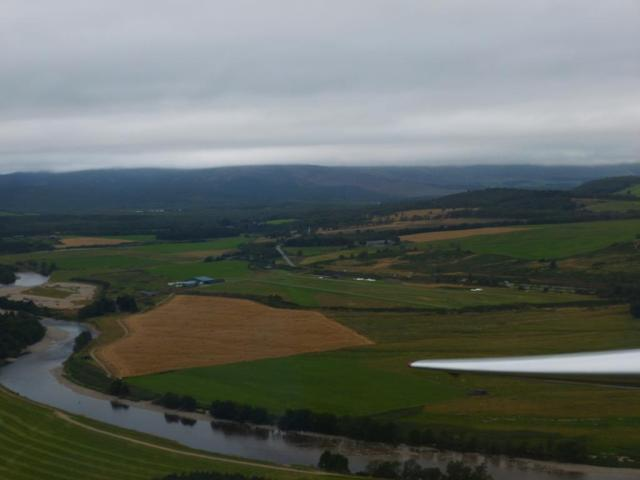 The gliding strip at Aboyne