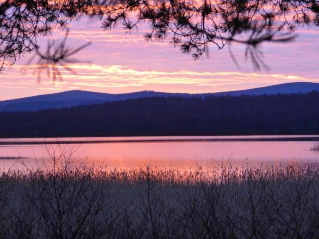 Sunrise over Loch Davan