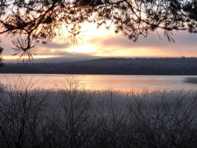 Sunrise over Davan