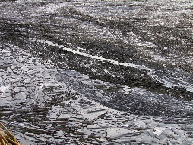 Ice by Loch Kinord